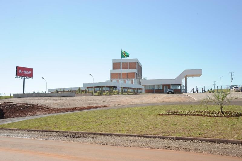 Vista externa da fábrica de soro de leite em pó (Relat - Laticínios Renner)