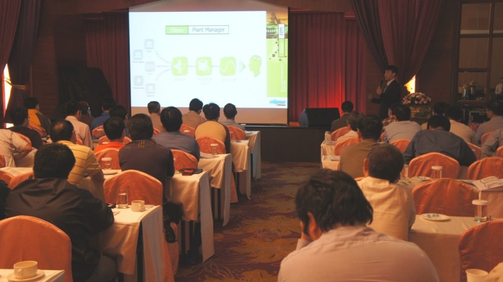 Wayne Ho, technical engineer of Elipse in Taiwan, talks about EPM applications in power sector
