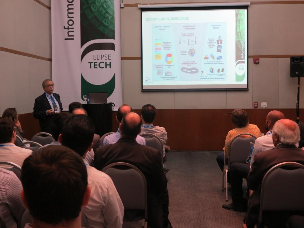 Mauricio Kurcgant destacou a importância da integração TI e TA