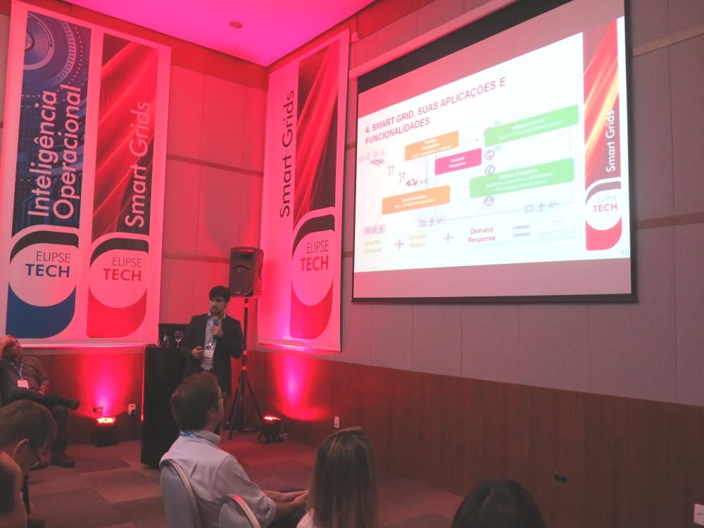 Thiago Enei falou sobre o uso das soluções de smart grid na automação das redes de distribuição de energia