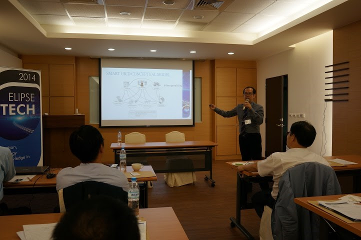 Elipse's Taiwanese branch manager, Evan Liu, opened the event