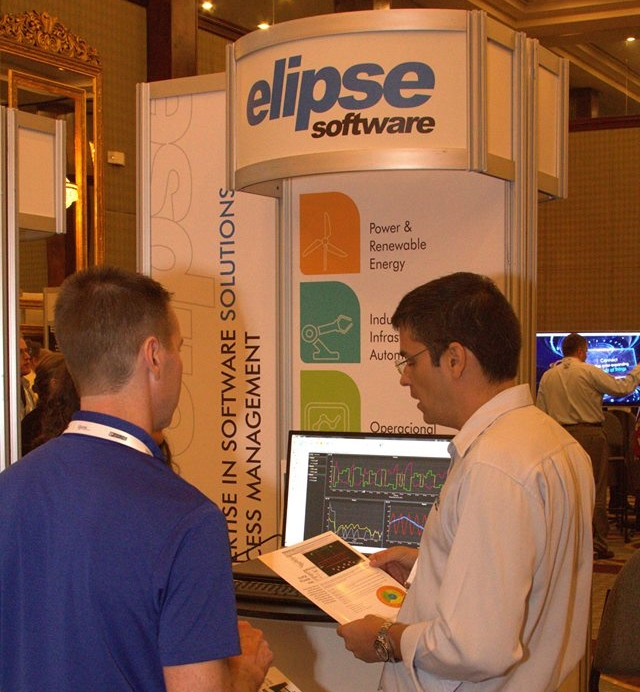 Marcelo Salvador, Elipse Software's business director, at the event