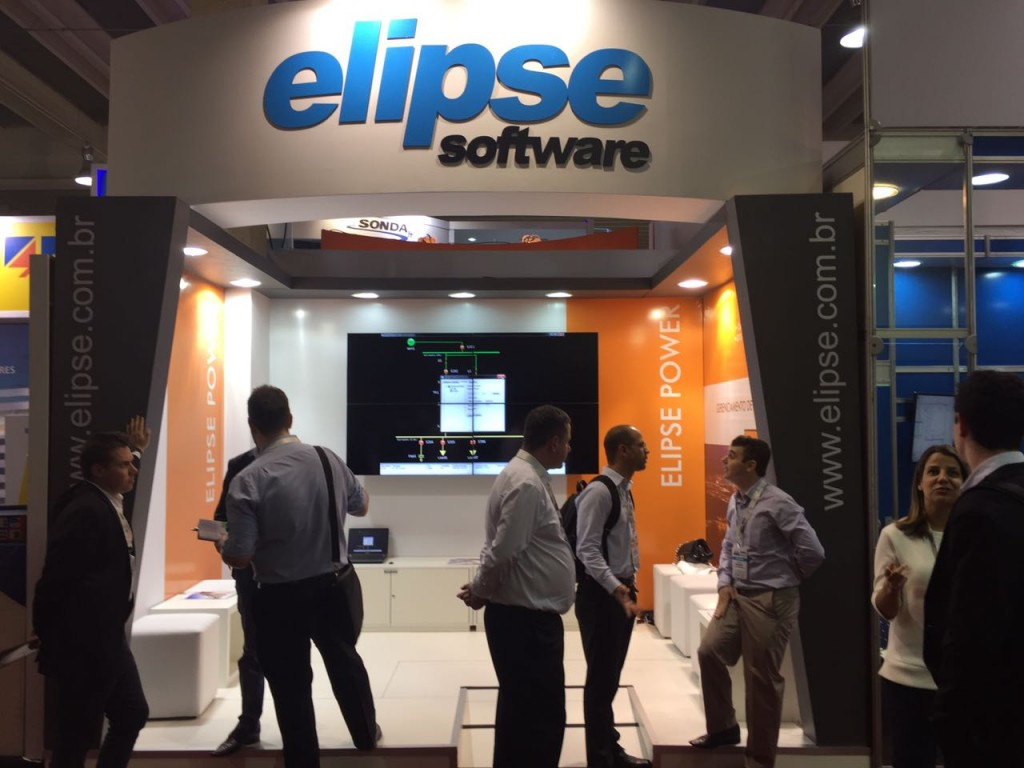Elipse Software's stand at this year's SENDI
