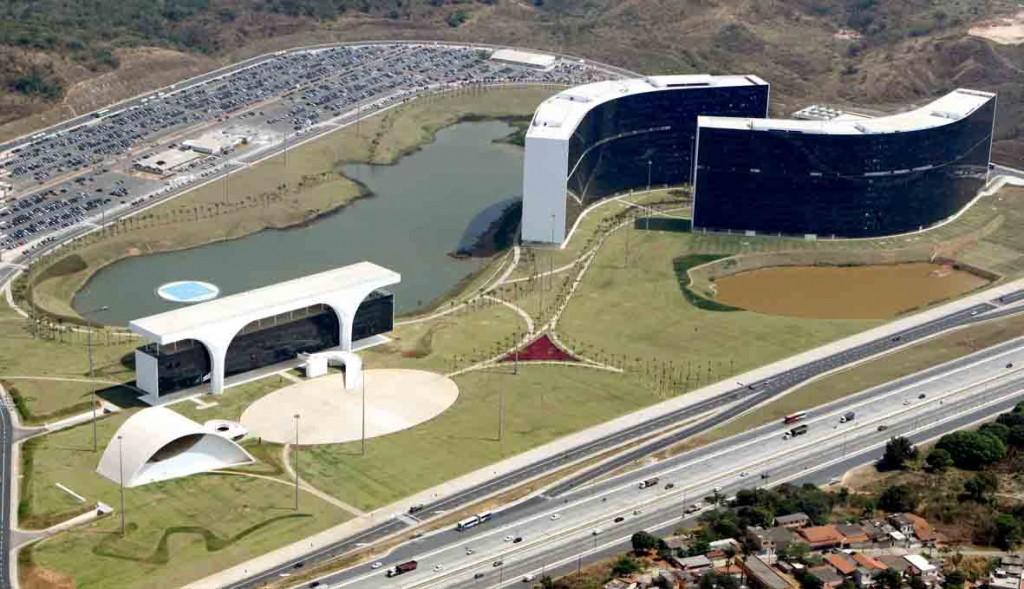 Figura 1. Cidade Administrativa de Minas Gerais (CAMG)
