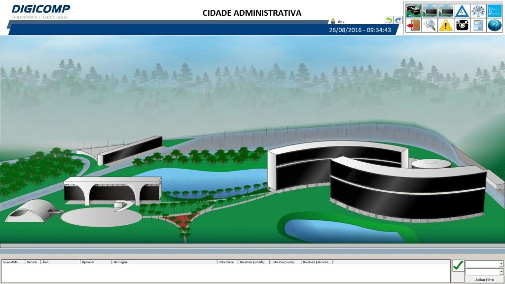 Figura 3. Tela de login da aplicação