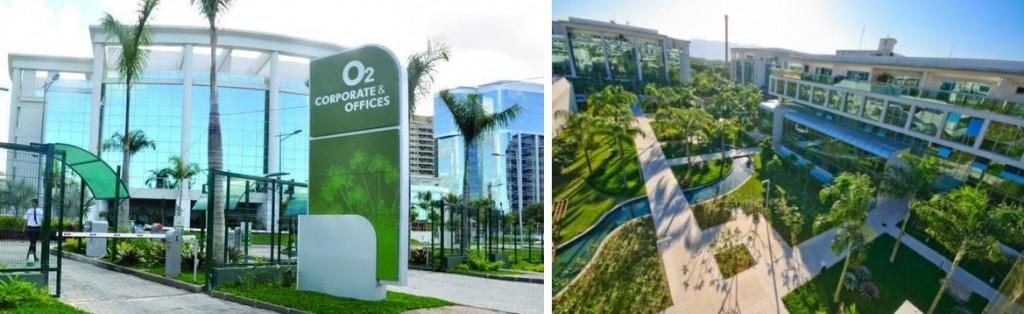 Imagens do O2 Corporate & Offices, nova sede da Elipse-RJ