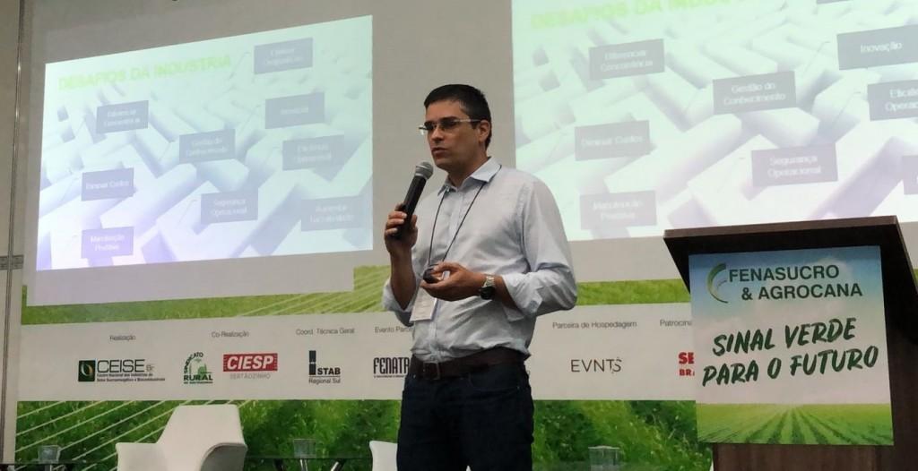 Marcelo Salvador, Diretor de Negócios da Elipse, na Fenasucro 2018